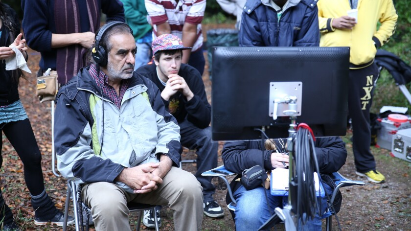 "Director Kavi Raz on the set of ""The Black Prince."" The former ""St. Elsewhere"" actor also wrote the"