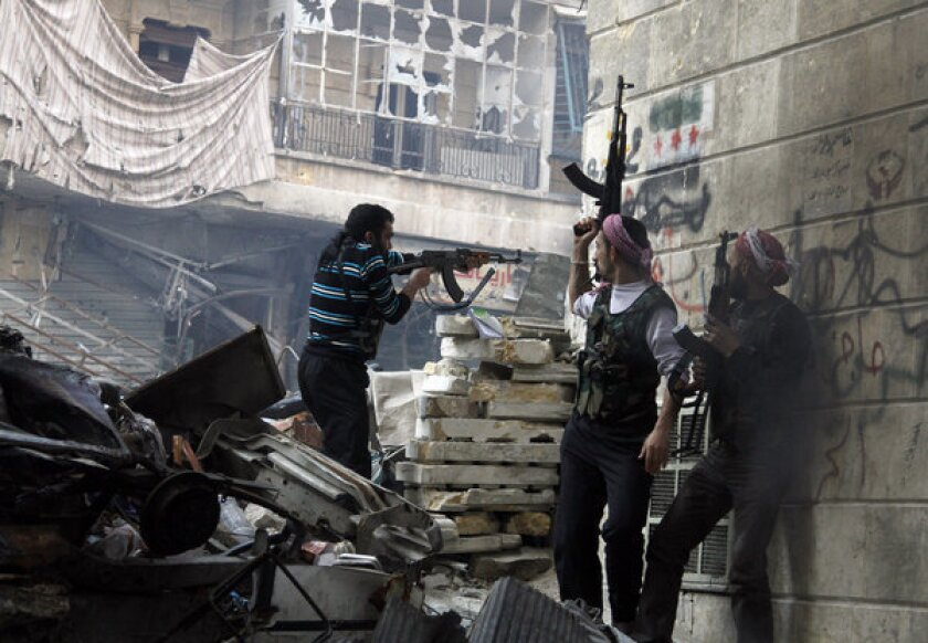 Syria rebels clash with state forces, reportedly attack pipeline