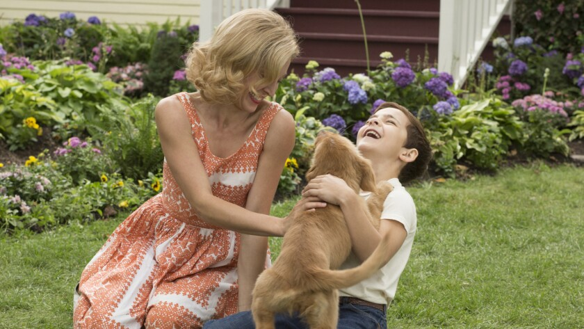 """Juliet Rylance and Bryce Gheisar in """"A Dog's Purpose."""""""