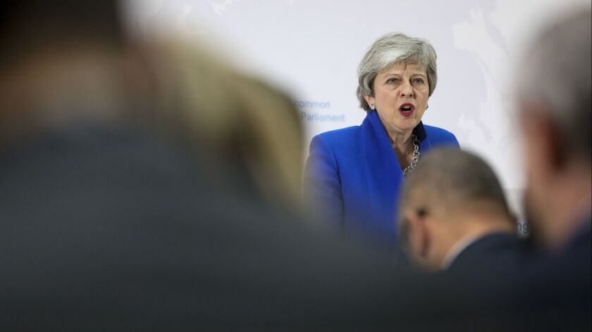 British PM May Sets Out New Brexit Proposal, London, United Kingdom - 21 May 2019