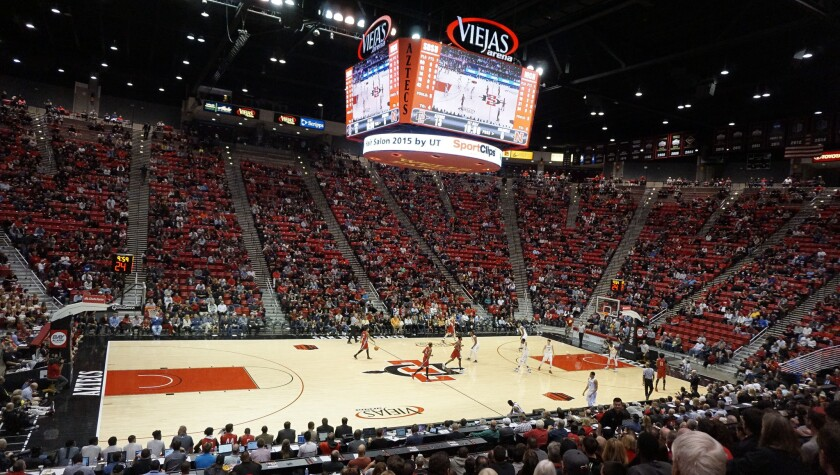SDSU will offer beer and wine sales at Viejas Arena this season.