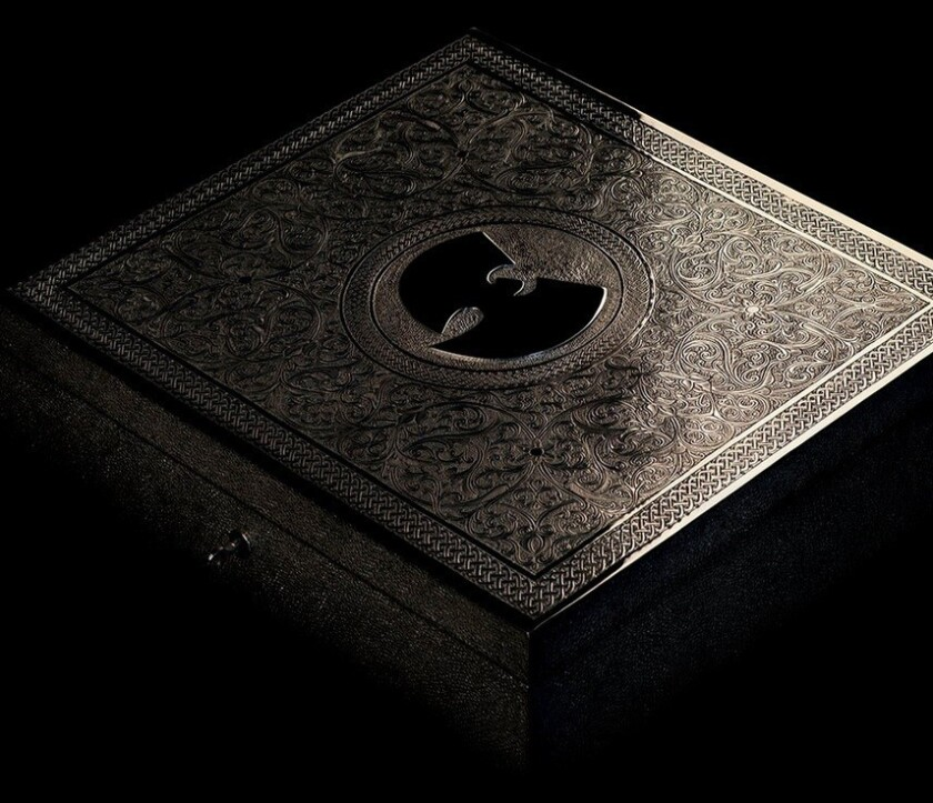 "Wu-Tang Clan spent the last six years recording a secret album -- called ""The Wu -- Once Upon a Time in Shaolin ..."" -- only one copy of which is to be manufactured."