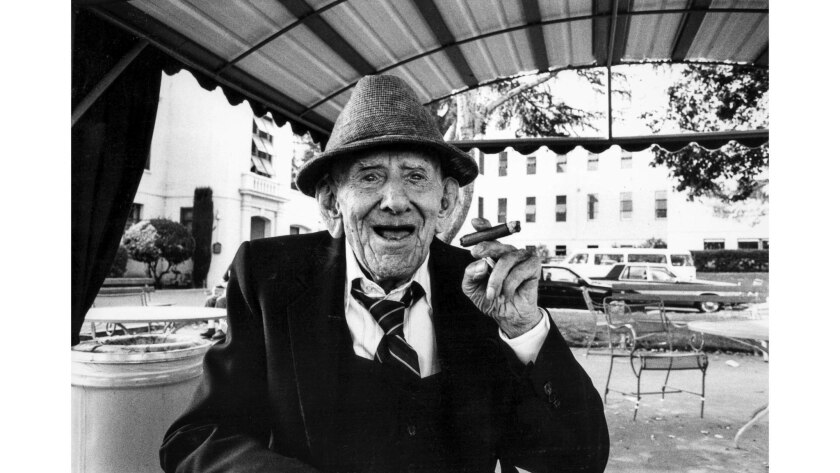Sept. 13, 1988: Martin De Young, 100, said his greatest pleasure in life was smoking a cigar.