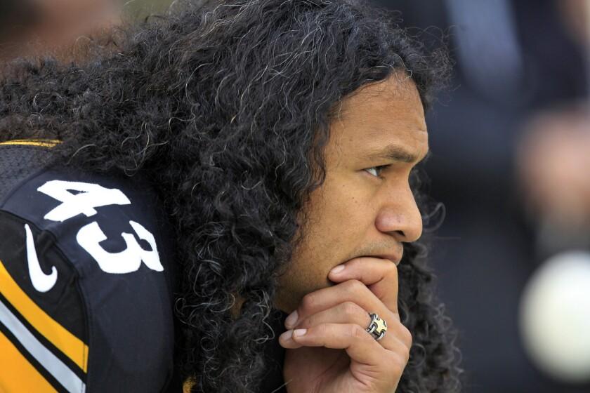 Troy Polamalu se retira de la NFL.