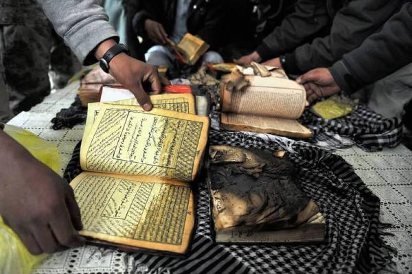 Pentagon finds soldiers who burned Korans ignored Afghan warnings