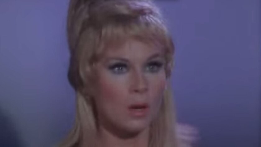 "Grace Lee Whitney played Yeoman Janice Rand in eight episodes of the original ""Star Trek"" TV series."