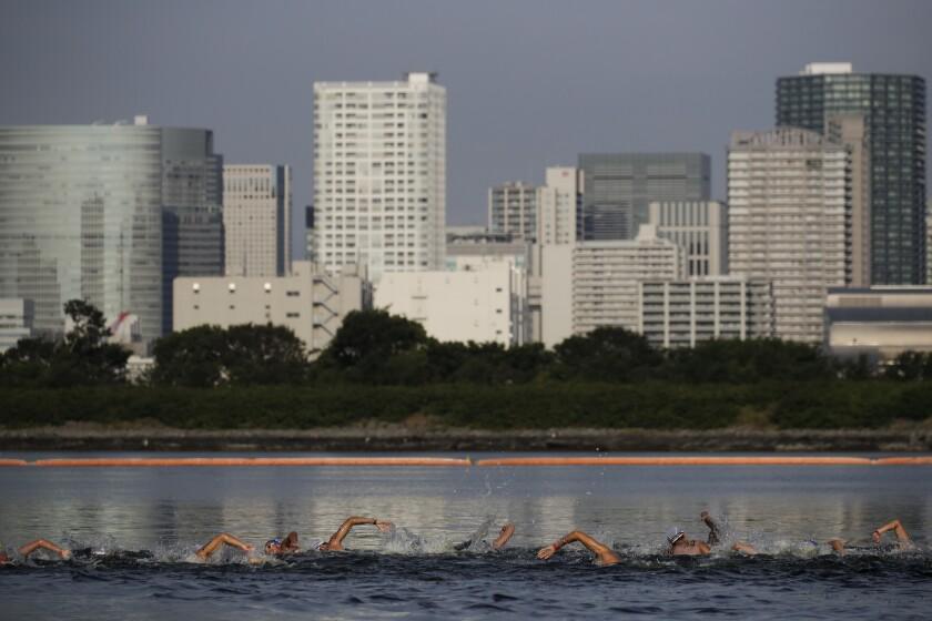 Tokyo Olympics 2020 Hot Water