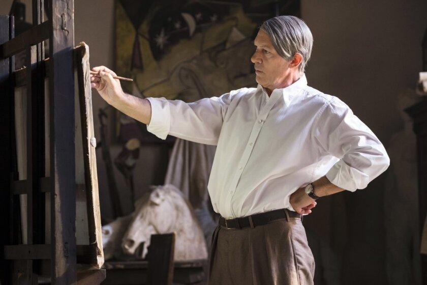 """Antonio Banderas interpreta a su compatriota Pablo Picasso en una escena de la nueva temporada de """"Genius""""."""