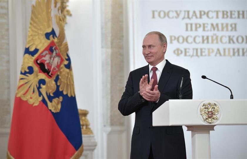 El presidente de Rusia, Vladímir Putin. EFE/SOLO USO EDITORIAL