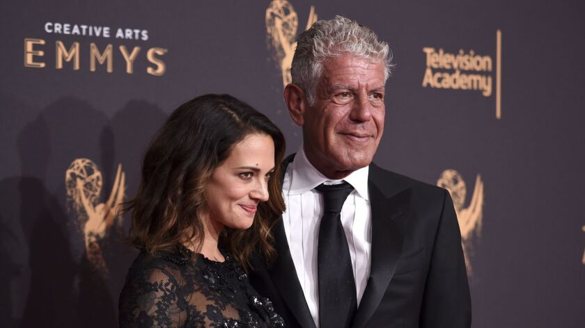 Asia Argento,Anthony Bourdain