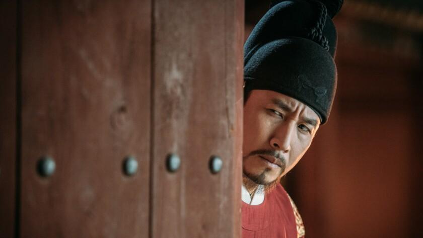 """Lee Sun-kyun in the film """"The King's Case Note."""""""