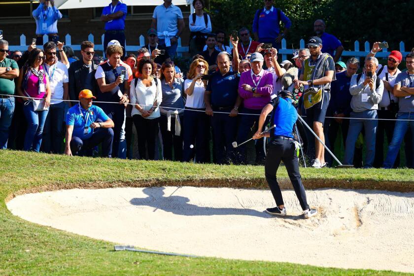 Italy Golf Italian Open