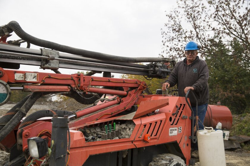 Glen Mead went to work at a rock quarry at age 60.