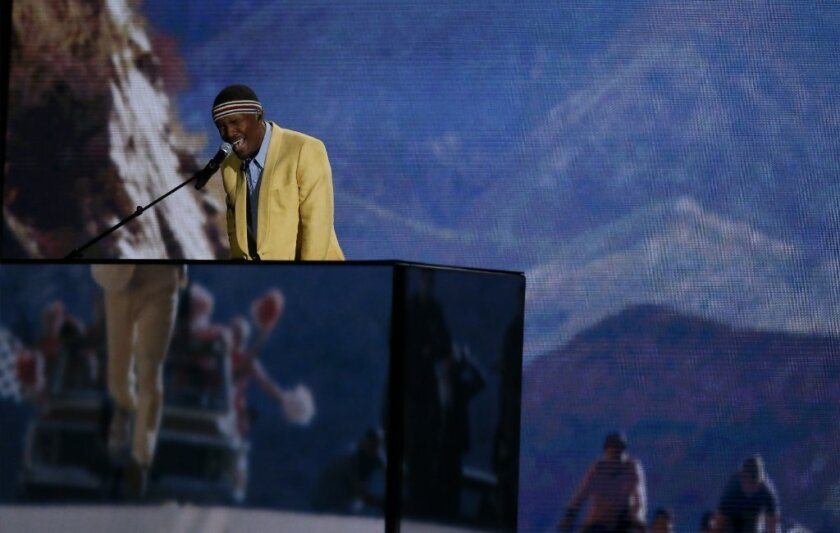 "Frank Ocean performed his ""Forrest Gump"" on the Grammy telecast, and the song does not appear to be selling well at digital retailers."