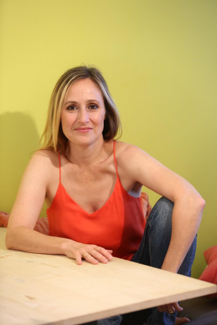 Playwright Heather Raffo.