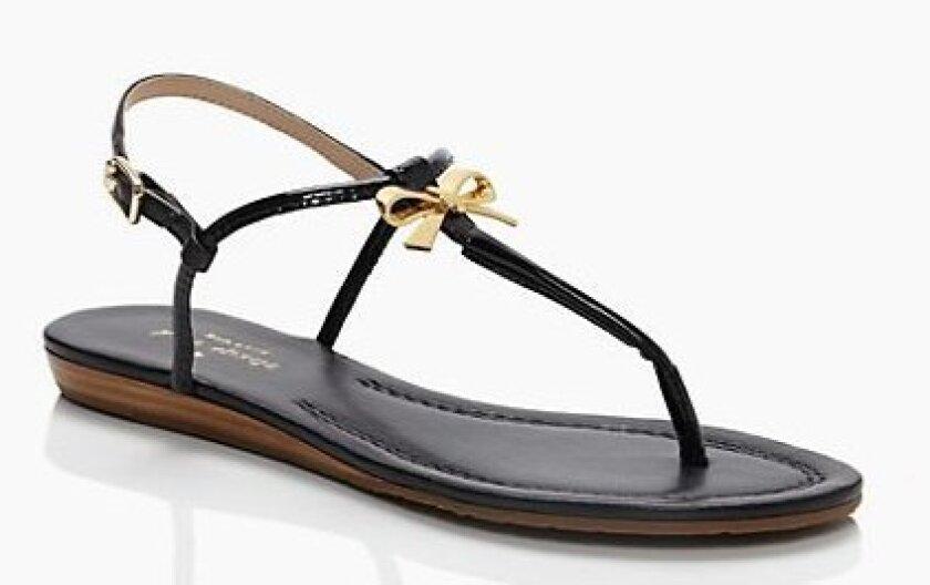 Sandals courtesy Kate Spade.