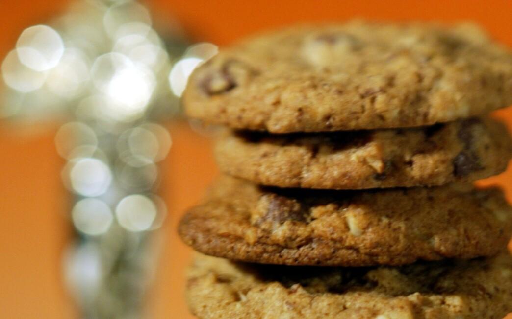 Caffeinated cookies