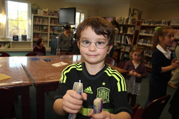 The Rancho Santa Fe Children's Library celebrates Chanukah
