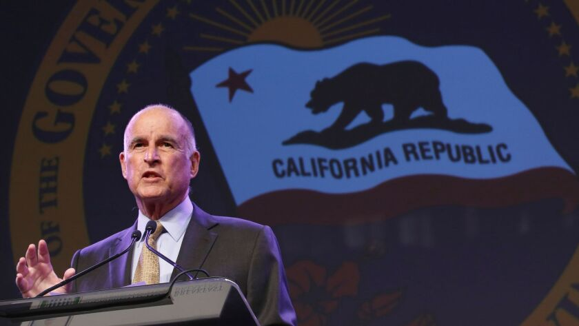 Gov. Jerry Brown is the strongest backer of Proposition 57, which would make it easier for some felons to gain parole.