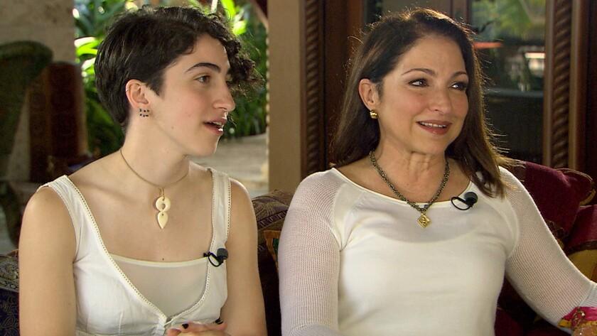 Gloria Estefan y su hija Emily Marie.
