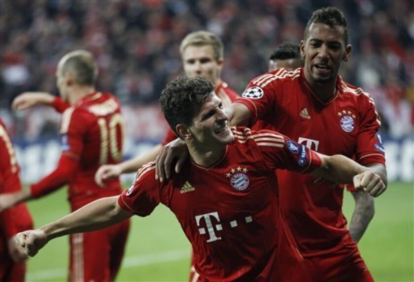 Gomez's late goal leads Bayern past Real 2-1 - The San Diego Union ...