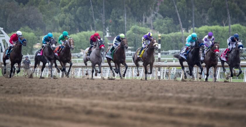 Santa Anita race in September 2019.