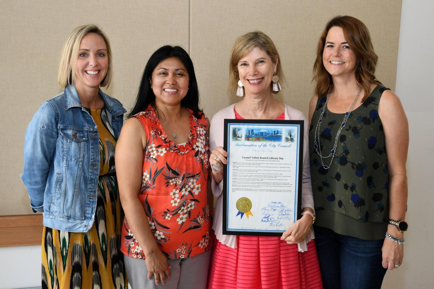 Carmel Valley Library 25th Anniversary Celebration
