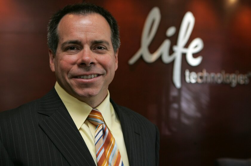 Gregory Lucier, chairman and chief executive officer of Life Technologies.