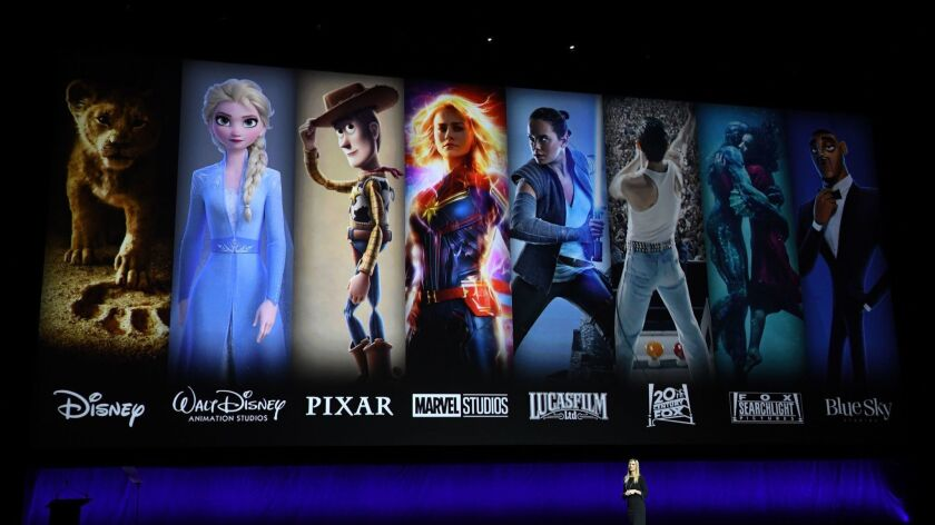 US-ENTERTAINMENT-FILM-CINEMA-DISNEY-CINEMACON