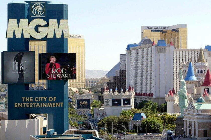 MGM Grand casino officials may let the winning couple take the slot machine back to New Hampshire.