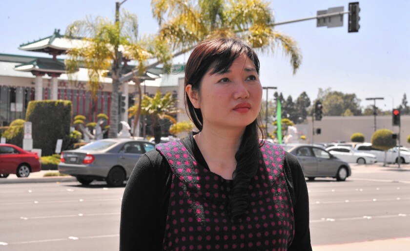 Vu Minh Khanh, wife of Vietnamese human rights activist Nguyen Van Dai, is rallying U.S. supporters and lawmakers to intervene on her husband's behalf. Nguyen was arrested in December in Hanoi.