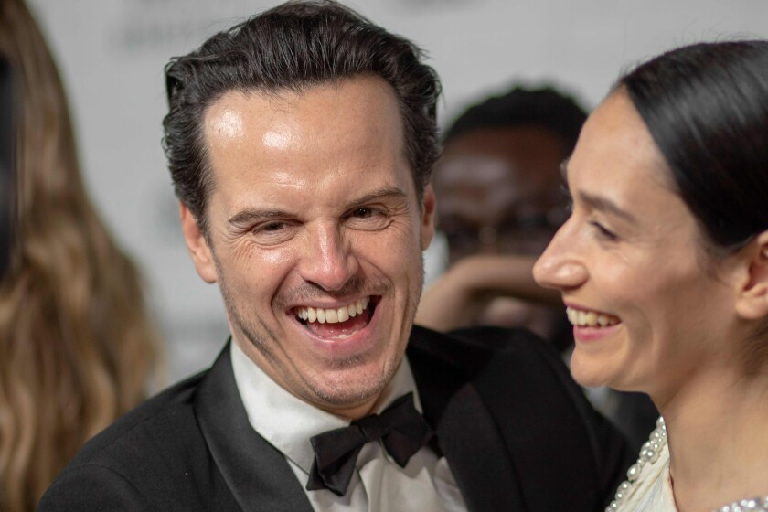 """Andrew Scott and Sian Clifford of """"Fleabag"""" at the 71st Primetime Emmy Awards."""