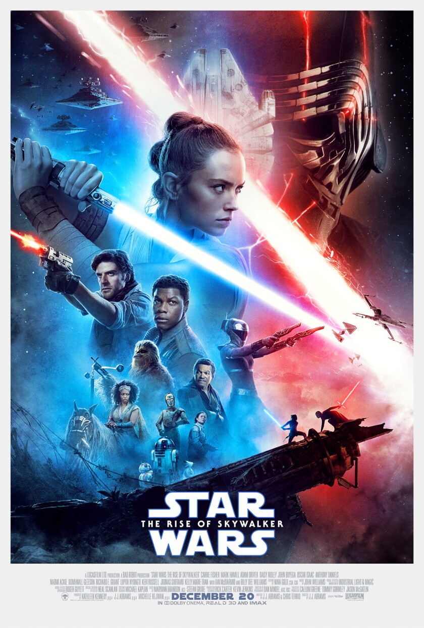 "The poster for ""STAR WARS: The Rise of Skywalker"""