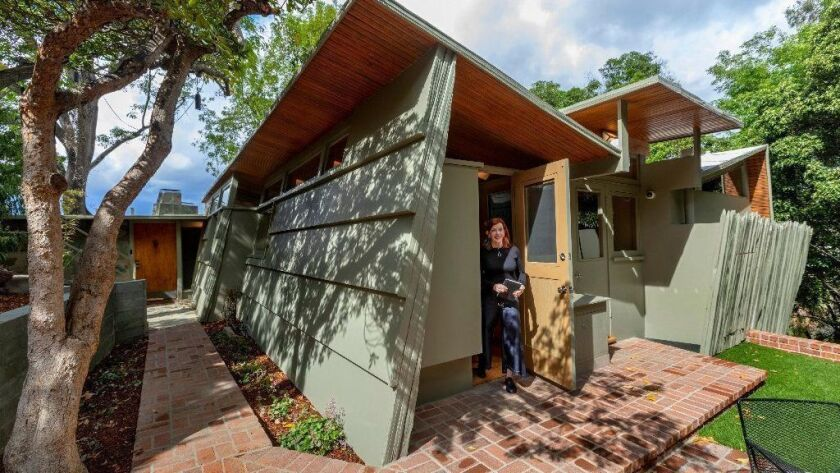 Author Susan Orlean at her Studio City home