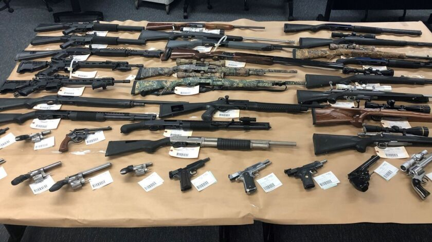 Weapons cache seized after man threatens to shoot minorities in his neighborhood, police say