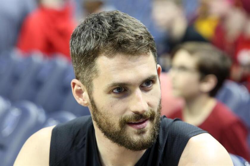 El jugador de los Cleveland Cavaliers Kevin Love. EFE/Archivo