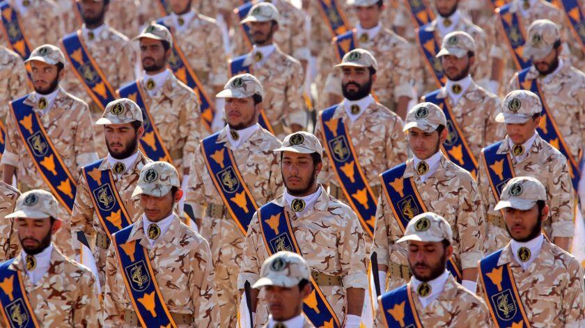 US designates Iran's Revolutionary Guards a terrorist organization, Tehran, Iran (Islamic Republic Of) - 22 Sep 2013