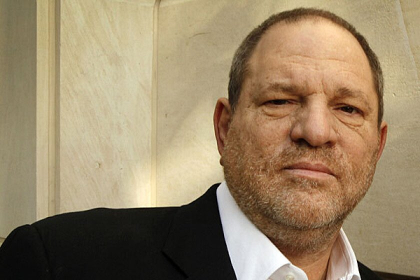 Harvey Weinstein at the Peninsula Hotel in Beverly Hills before the upcoming 84th Academy Awards.