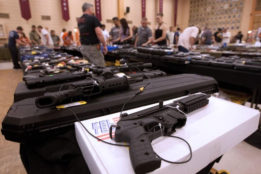 El 'Viernes Negro' en Estados Unidos suele ser uno de los días del año en el que más armas de fuego se adquieren.