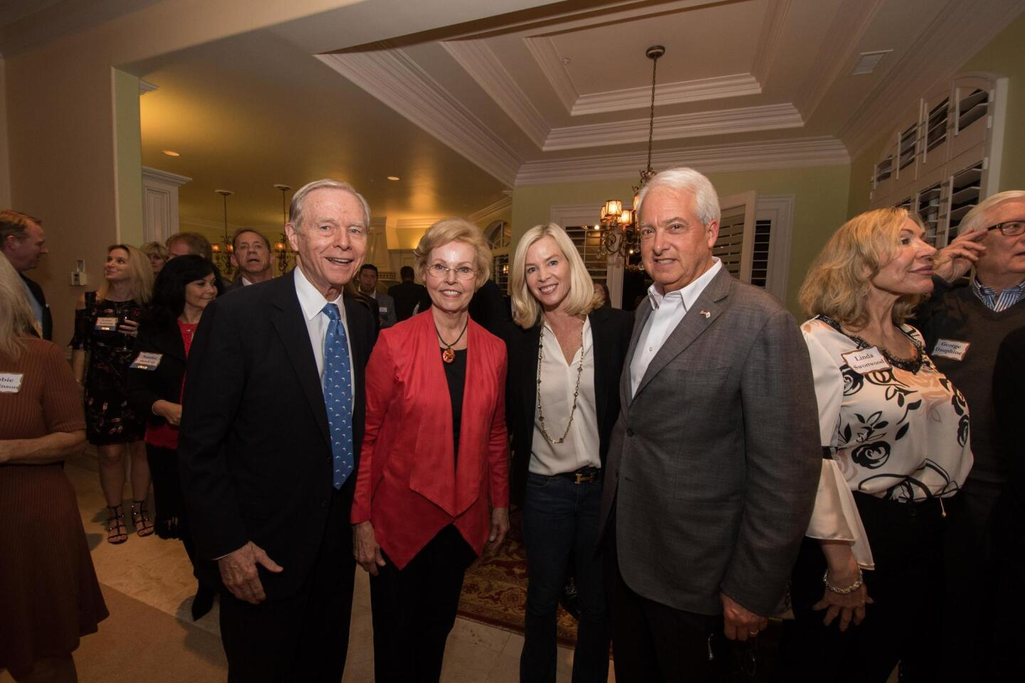 Former Governor Pete Wilson attends event held for John Cox in RSF