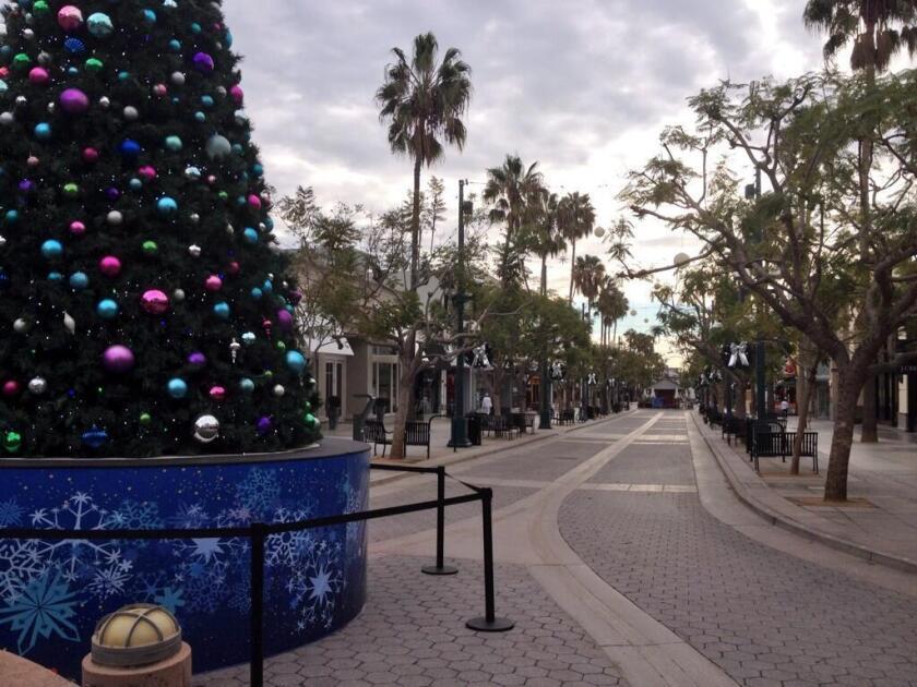Even before the coronavirus pandemic, shopping areas such as the Santa Monica Promenade had taken a hit.