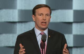 Sen. Chris Murphy pleas for gun control at the Democratic National Convention