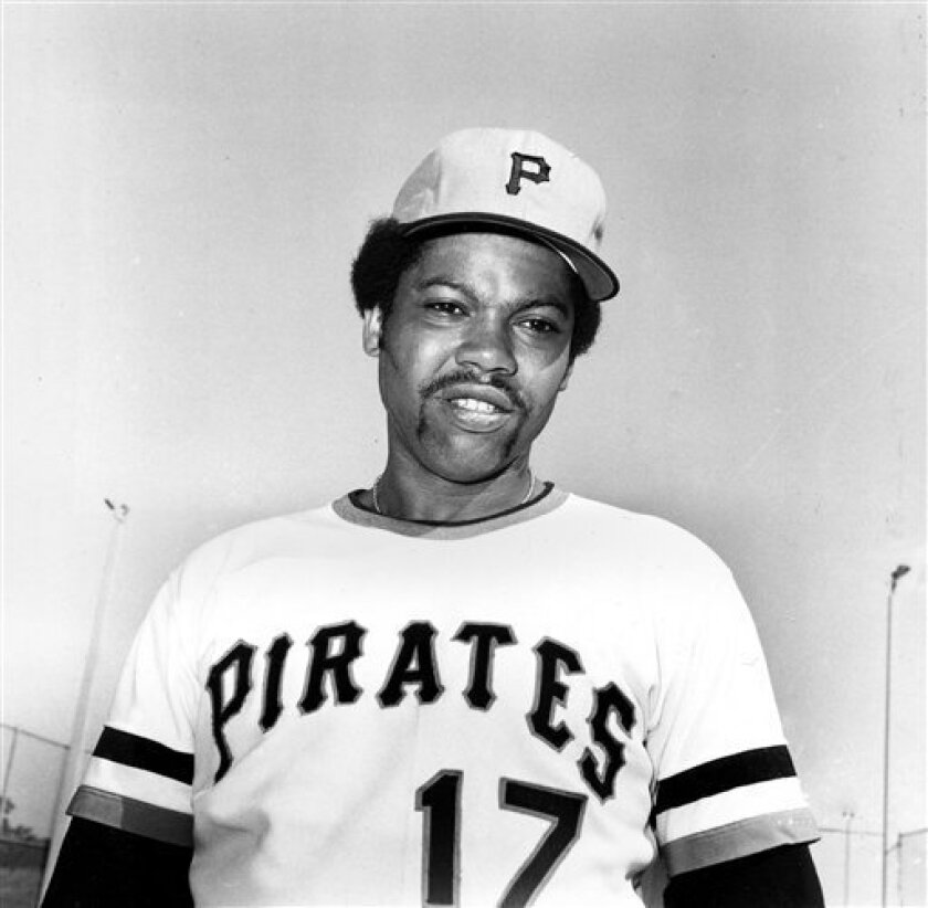 ** Pittsburgh Pirates pitcher Dock Ellis (17) is shown in Bradenton, Fla., in this Feb. 1974 file photo taken during spring training. Ellis, who infamously claimed he pitched a no-hitter for Pittsburgh under the influence of LSD and later fiercely spoke out against drug and alcohol addiction, died