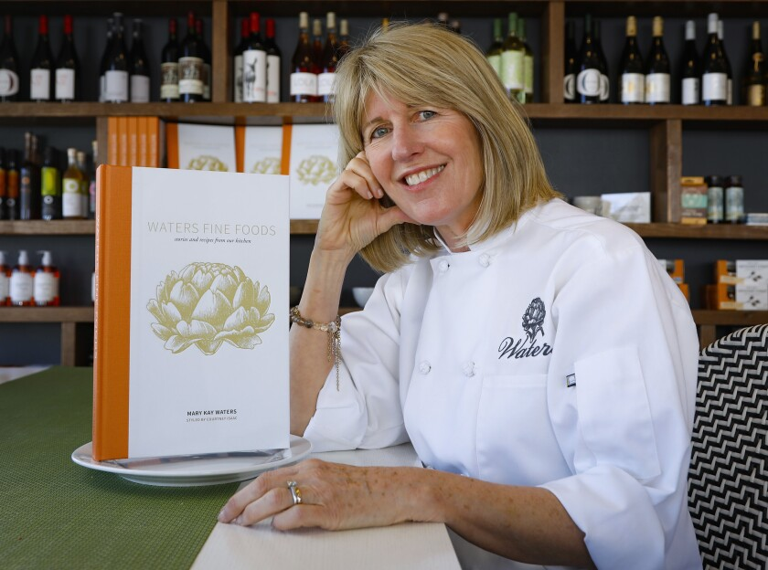 Mary Kay Waters, founder of Waters Catering and Waters Fine Foods, is the author of a new cookbook.