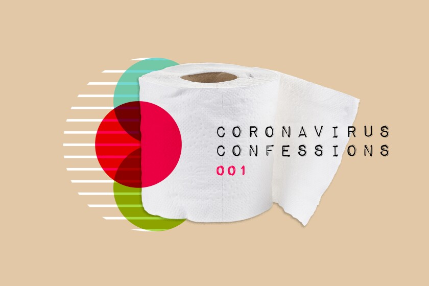 Toilet-paper hoarding was among the shame-inducing, reader-submitted coronavirus confessions.