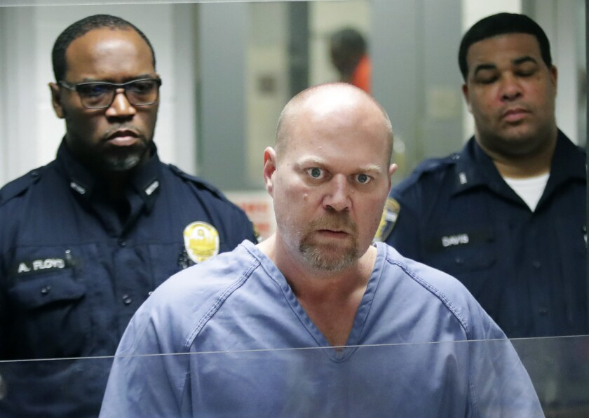Gregory Bush is arraigned on two counts of murder and 10 counts of wanton endangerment on Thursday.