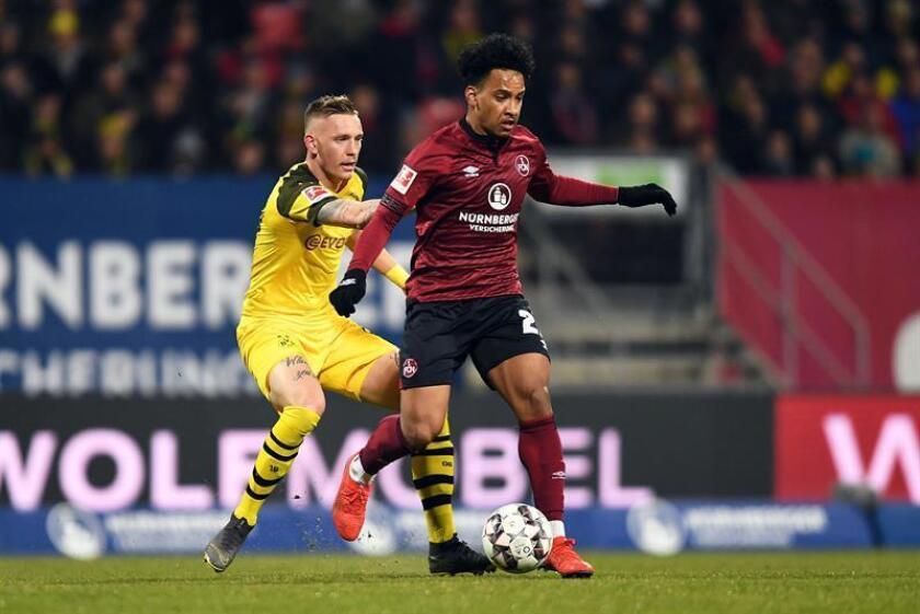 Imagen de un partido de la Bundesliga. EFE/Archivo