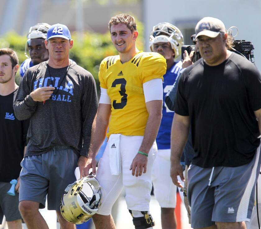 UCLA football training camp