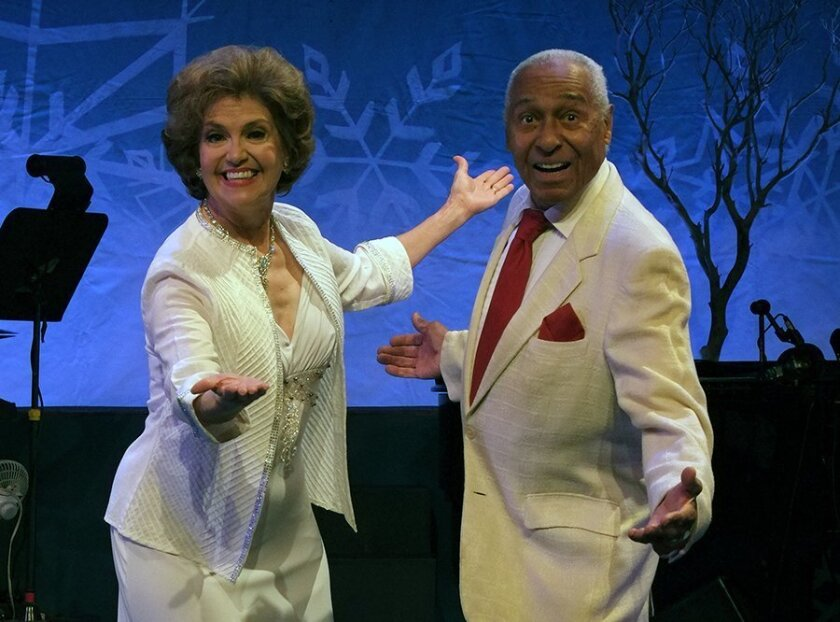 """Mary Lou Metzger and Arthur Duncan co-star in """"A Welk Family Christmas"""" at the Welk Resorts Theatre in Escondido. The holiday revue runs through Dec. 29."""