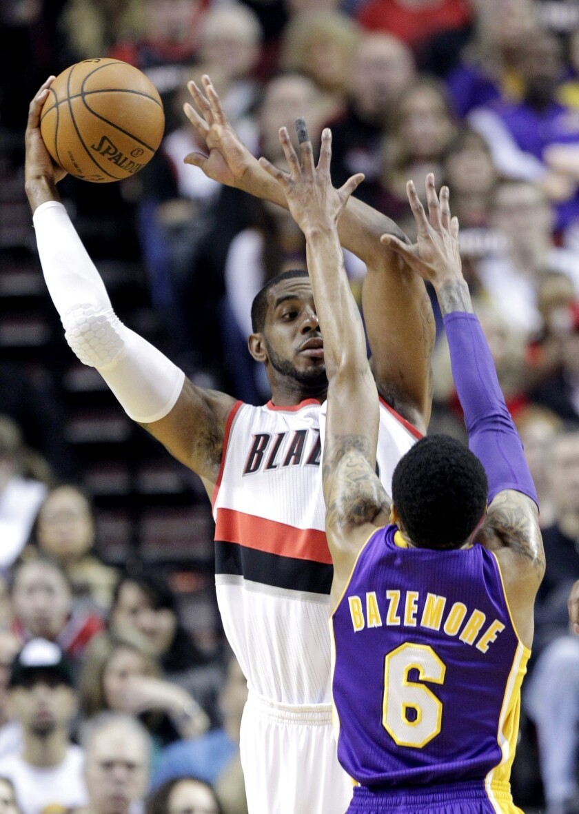 Preview: Lakers vs. Portland Trail Blazers